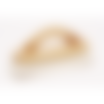 Waxed Beechwood Shoe Shine Brush With Light Goat Hair Bristle