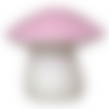 Heico  Large Pink Toadstool Night Light Lamp