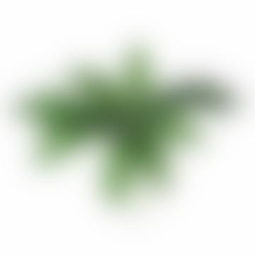 Faux Schefflera Leaf Spray