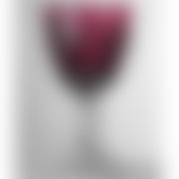 Ruby Dolce Vita Wine Glass