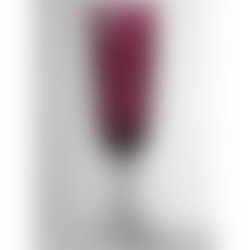 Mario Luca Giusti  Ruby Dolce Vita Champagne Glass