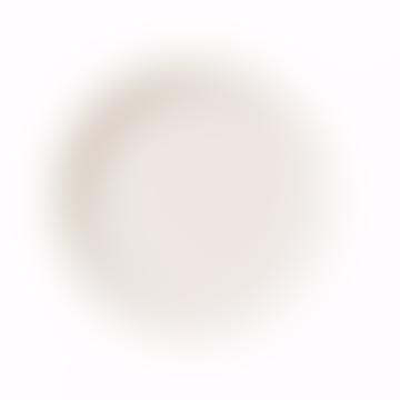 Teema Small White Flat Plate 17cm
