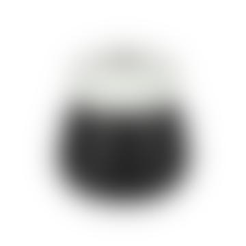 Small Black and White Zoro Vase