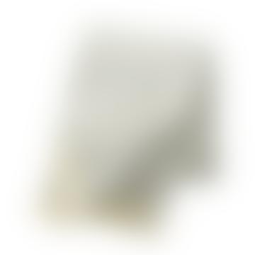 Olle Light Grey Eco 100 Lambswool Blanket