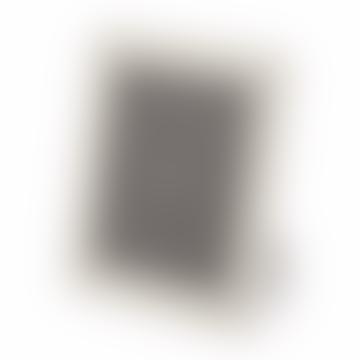 """10 x 8"""" Ivory Leather Wedding Photo Frame"""