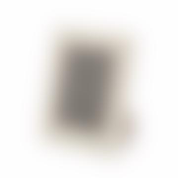 """Noble Macmillan 7 x 5"""" Ivory Leather Wedding Photo Frame"""