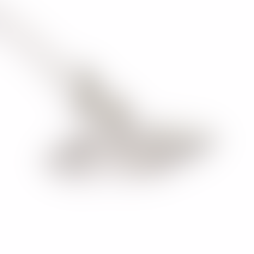 Collier pendentif en orbe plat Palladium Thin Lines
