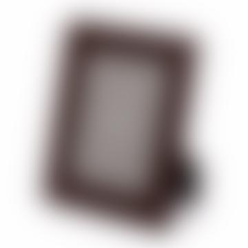 "Noble Macmillan 8 x 6"" Chelsea Leather Photo Frame"