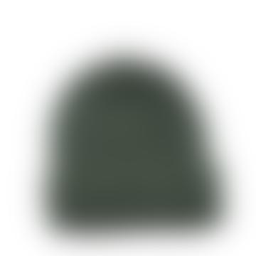 Cuemars Green Merino Wool Beanie