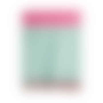 Aqua Pink Merino Lambswool Blanket Throw