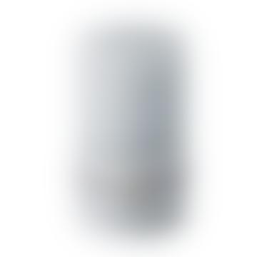 Lene Bjerre Medium Rustic Light Grey Pillar Candle