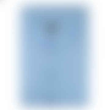 Luxury Lawn Cotton Nightshirt - Light Blue