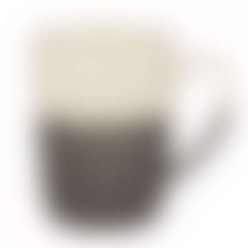 Esrum Ivory and Grey Mug
