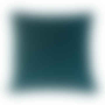 Cushion Velvet Teal Square