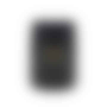 Matte Black Glass Agape Scented Candle