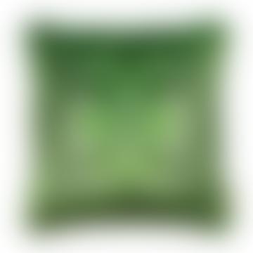 Susi Bellamy Green Fantasy Kaleidoscope Cushion