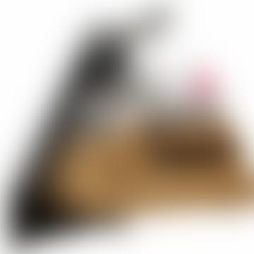 J-Me 700mm Black Floating Shoe Rack