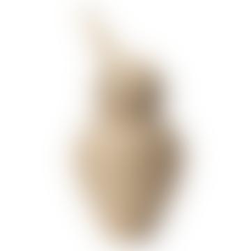 Small Wooden Bird Ornament