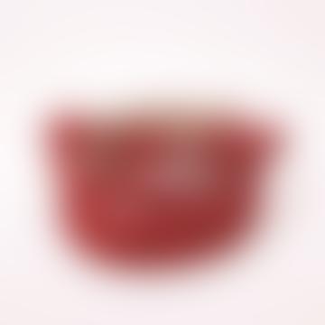 Red Lavinia Plait Belt