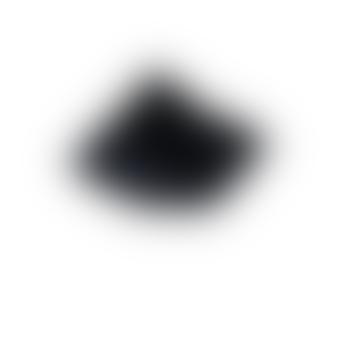 Black Faux Fur Bear Cushion