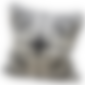 Cotswold Grey Maze Cushion