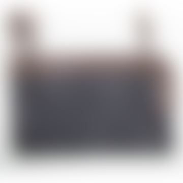 Charcoal Sabine Clutch Bag