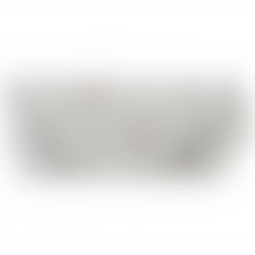 Sophie Allport Grey Heart Pattern Glasses Case