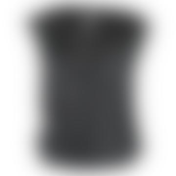Format LIZZ Black Silk Blouse