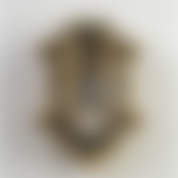 Large Brass Oval Bulkhead Light - Outdoor Exterior Light