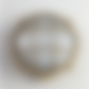Large Round Bulkhead Outdoor Light - Brass