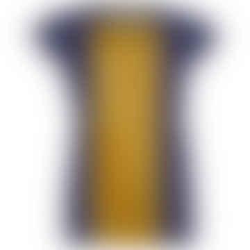 Format BASE Blue & Wood Single Plain T-Shirt