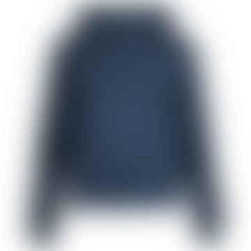 BALU Dark Blue Wool Fleece Hoodie