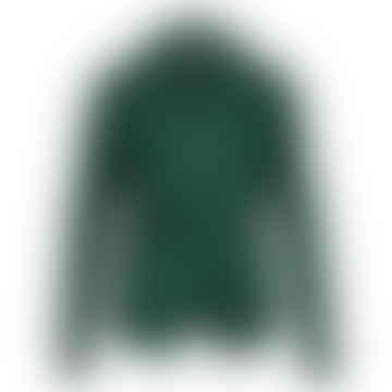 Bind Green Sweat Fluffy Cardigan
