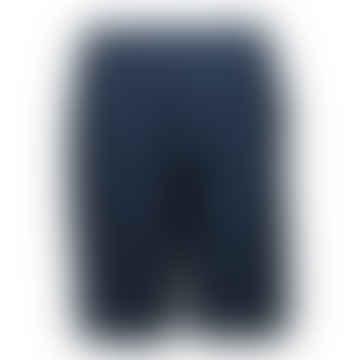 Format COSYII Dark Blue Plain unisex Shorts