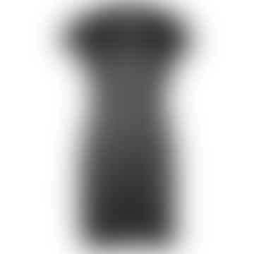 ELLI Black Linen Jersey Dress