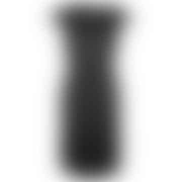 Format INGA Black Plain Dress
