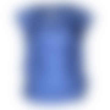 Format LIZZ Blue Silk Blouse