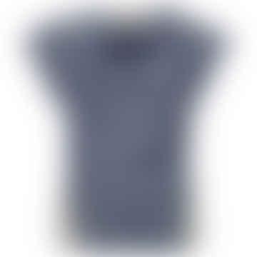 OATS Blue Ecru Denim Single Blouse