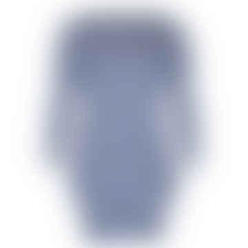 Format POKE Blue Ecru Single Dress