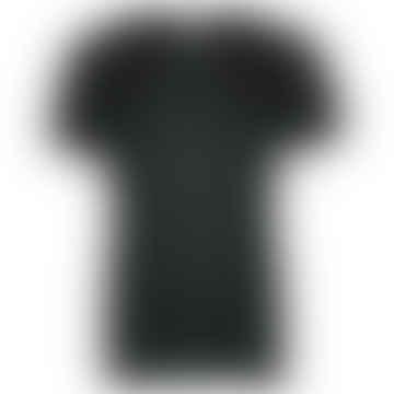 RACE Black Single Plain T-Shirt