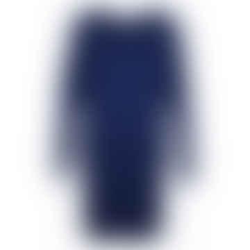 Format TJOK Blue Single Long Sleeved Dress