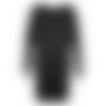 TJOK Black Single Long Sleeved Dress