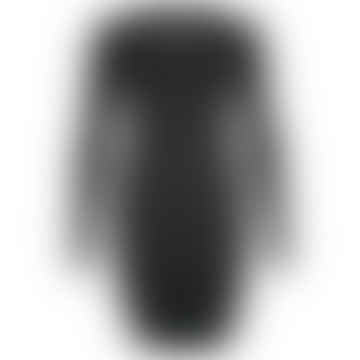 Format YOKE Black Interlock Dress