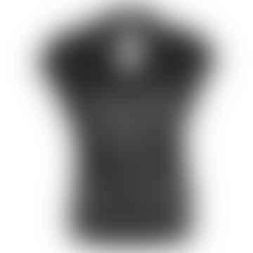 TJEK Black Linen Jersey Shirt
