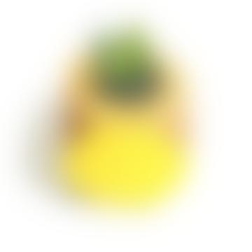 Large Mustard Yellow Geo Planter