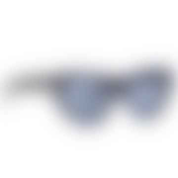 Navy Glitter Nancy Sunglasses