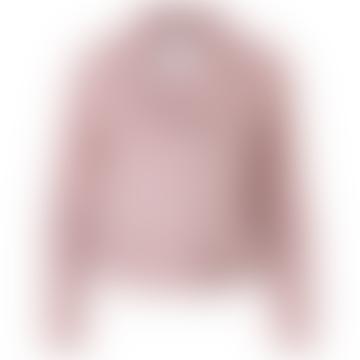 Woodrose Pink Ebba Suede Jacket