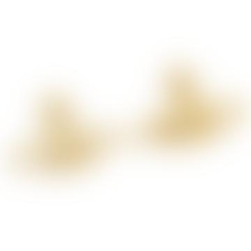 Vivienne Westwood  Gold Medium Earrings