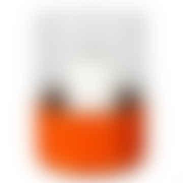 Hurricane With Orange Cowhide Band Lamp