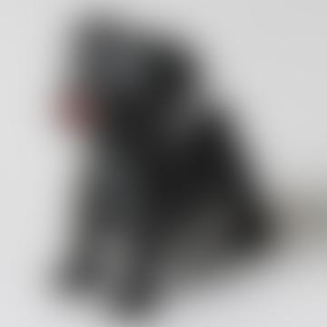 Black Pug Rocky Doll
